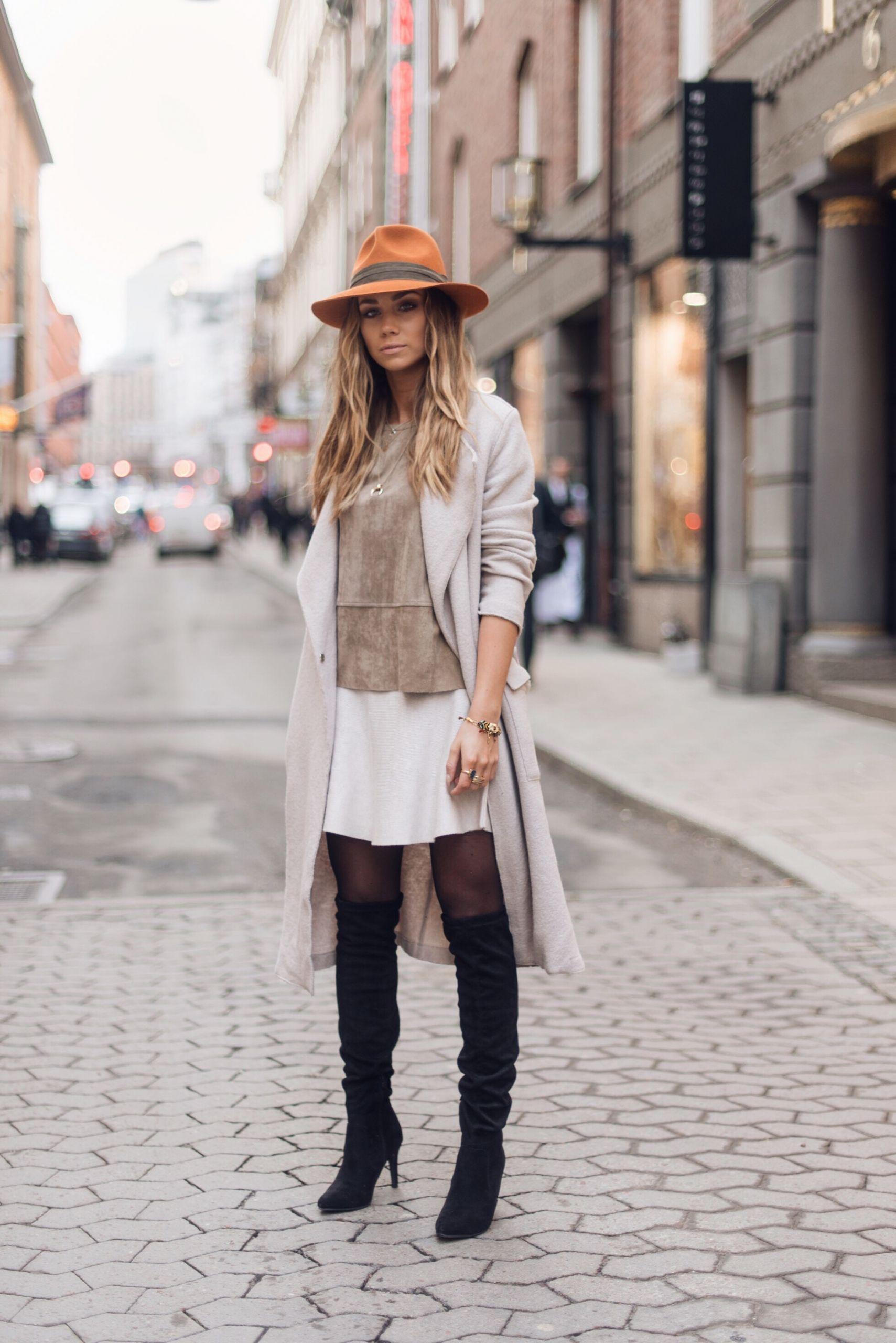 Filippa Coat Noir Shoes Tricot Din K Neo Top Gina sko Skirt zqAWw7