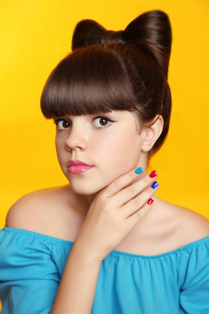 Impresionante peinados niña media melena Galería de cortes de pelo estilo - 👌👌 Ideas geniales de peinados de MEDIA MELENA CON ...