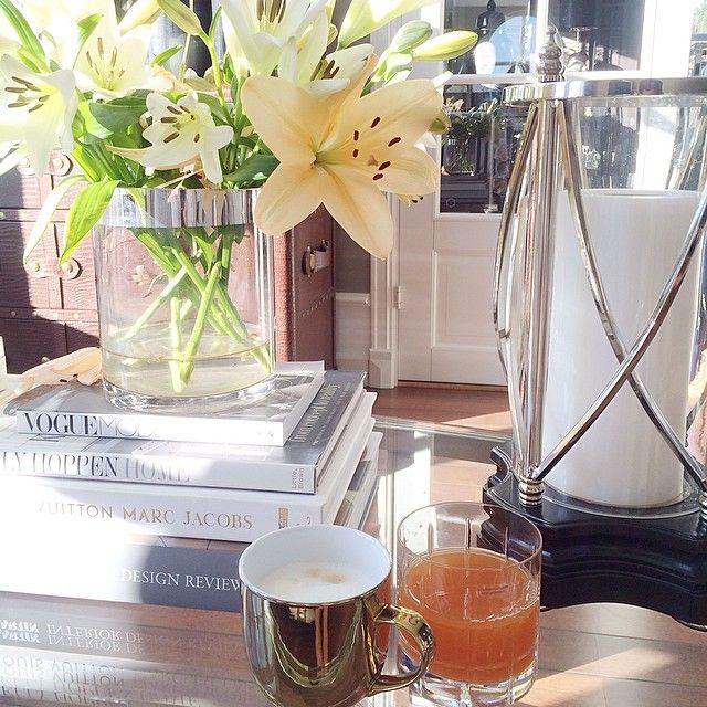 #ShareIG ☀️ Fantastisk å våkne opp til dette været ~ litt kaffe hjemme før åpent showroom i dag fra kl 11-17, velkommen  @tmdesignfurniture
