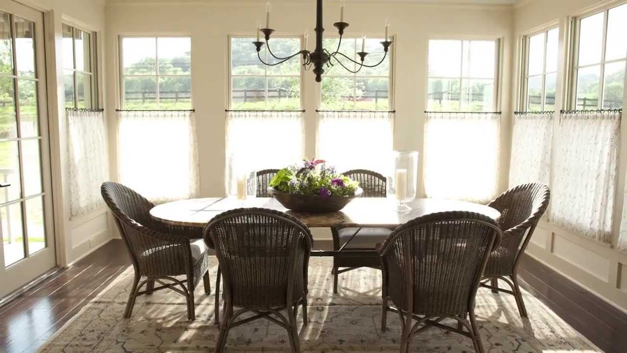 Casual Dining Room | Pinterest | Curtain hanging, Casual dining ...