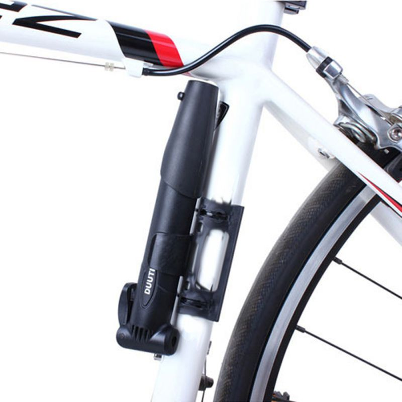 Mini Bicycle Cycling Bike Air Pump Tyre Tire Ball Black Multi