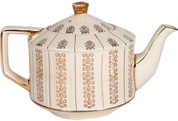 Vintage English Tea Pot