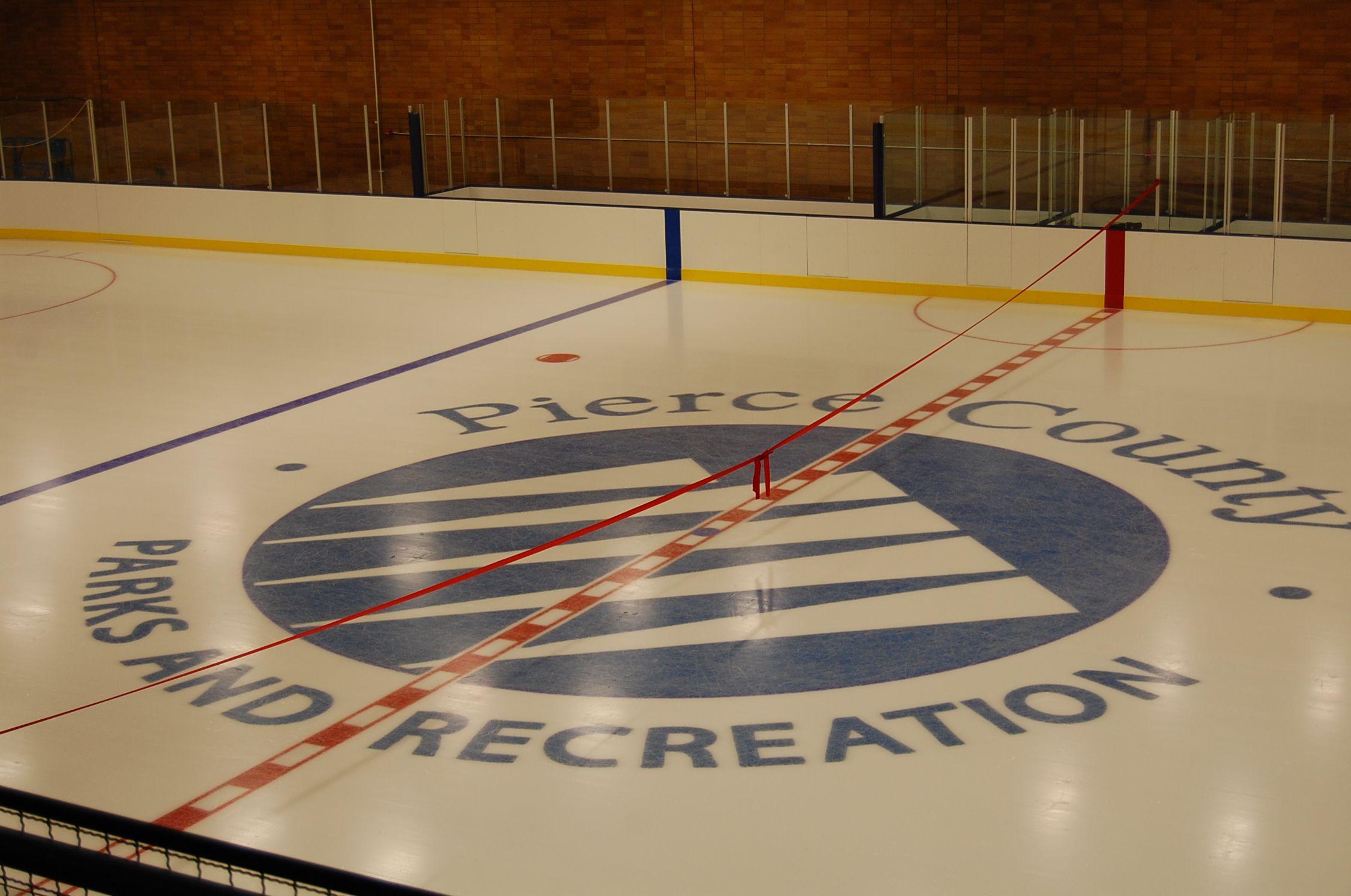 sprinker recreation center ice rink http www co pierce wa us