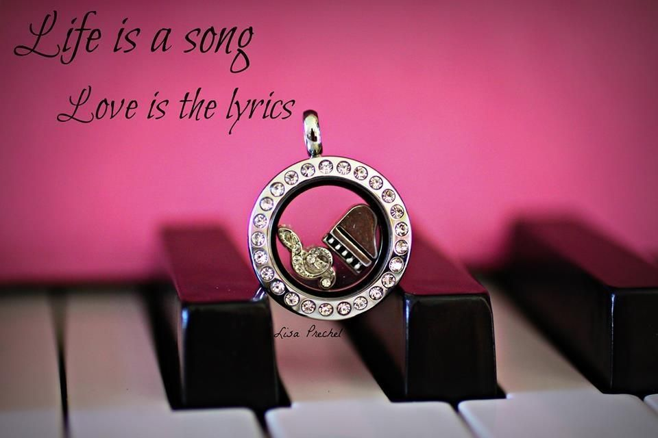 Origami Owl  and music.  Create your own Living Locket!  Shop or Join my Team @ www.vivianpayne.origamiowl.com  www.facebook.com/vivianslockets