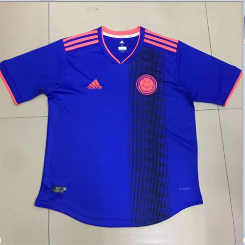 a7ae19cefd2 2018 Colombia Away Navy Soccer Jersey Shirt | South America National ...