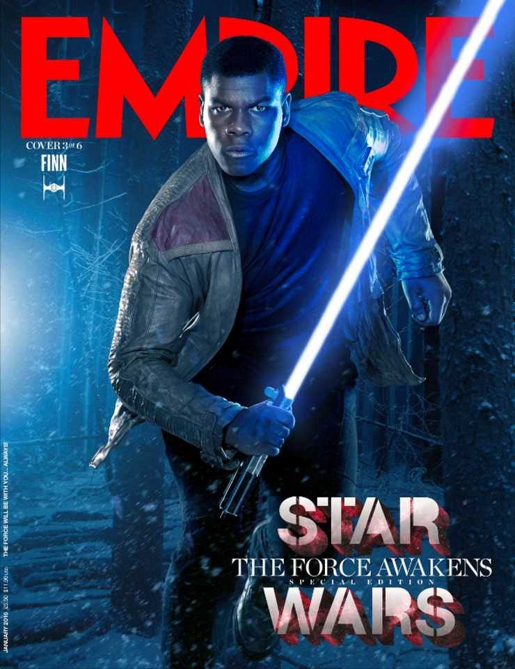 Empire finn cover star wars 7 magazine covers highlight heroes empire finn cover star wars 7 magazine covers highlight heroes villains malvernweather Gallery