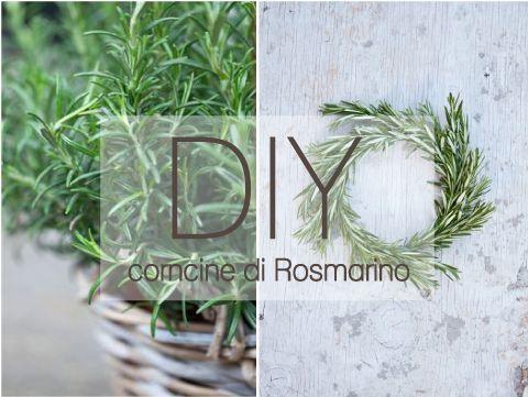 Coroncine di Rosmarino per decorare