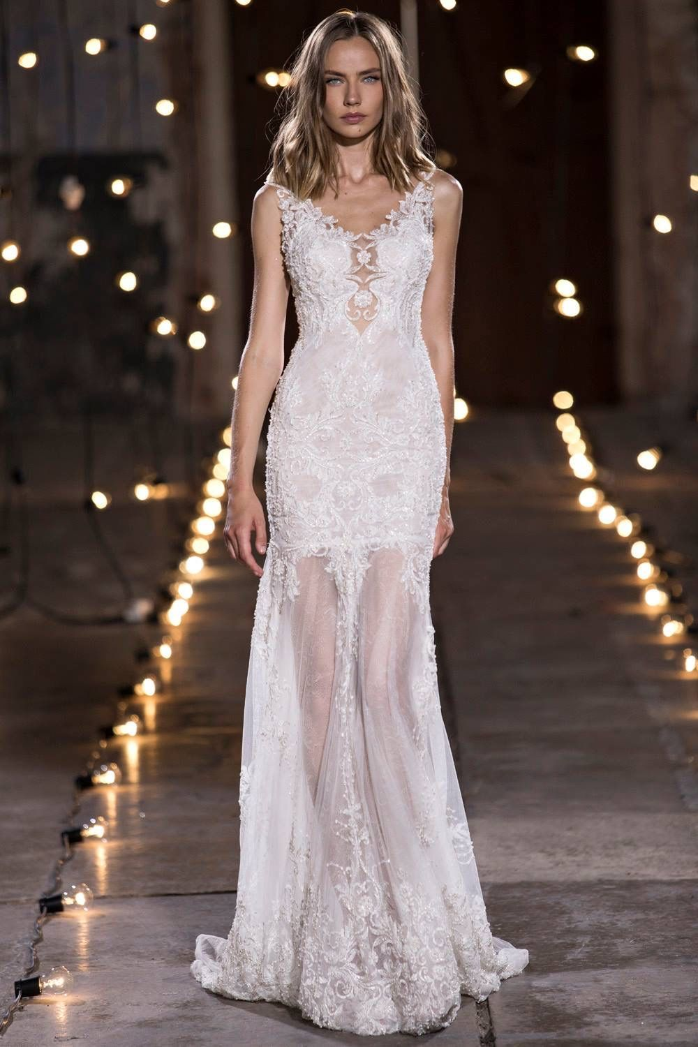 Nurit hen stardust bridal couture collection at the altar