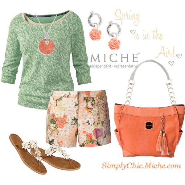 """Spring is in the Air! Miche Demi Blanche"" by miche-kat on Polyvore Spring 2014 Miche Demi Blanche http://www.simplychicforyou.com/"