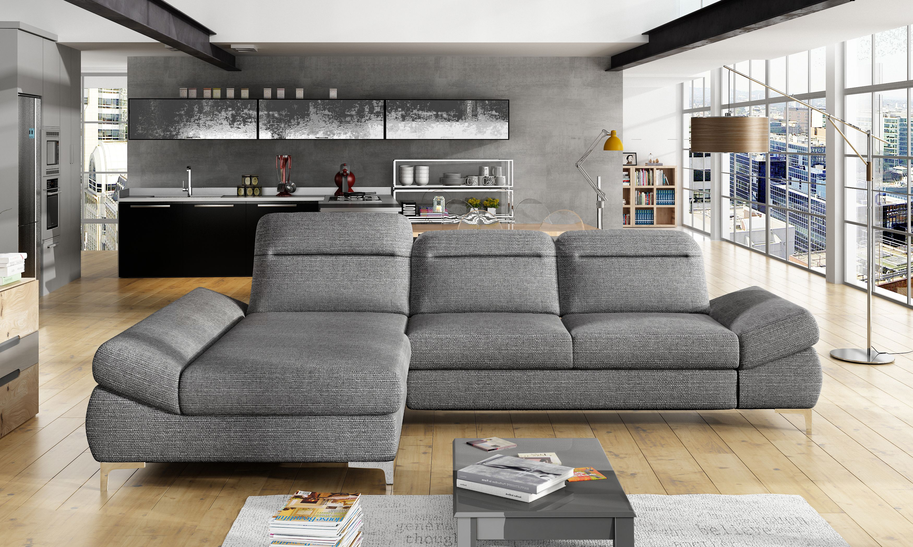 Timola Mini Classic Sofa Home Decor Sectional Couch