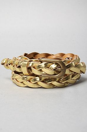 Belt in Gold Just What I've Been Searching For