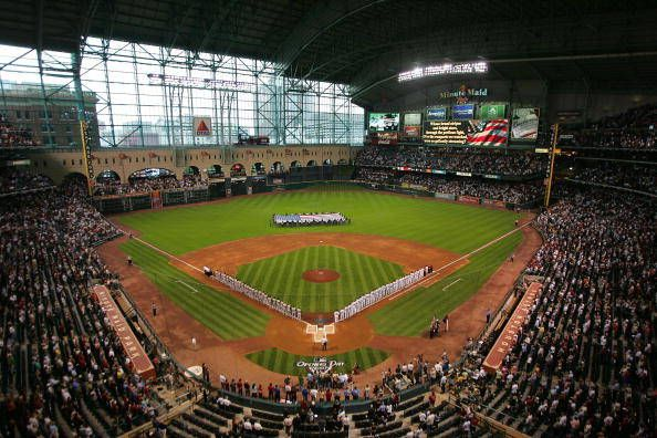Houston Astros Major League Baseball Stadiums Minute Maid Park Astros Stadium