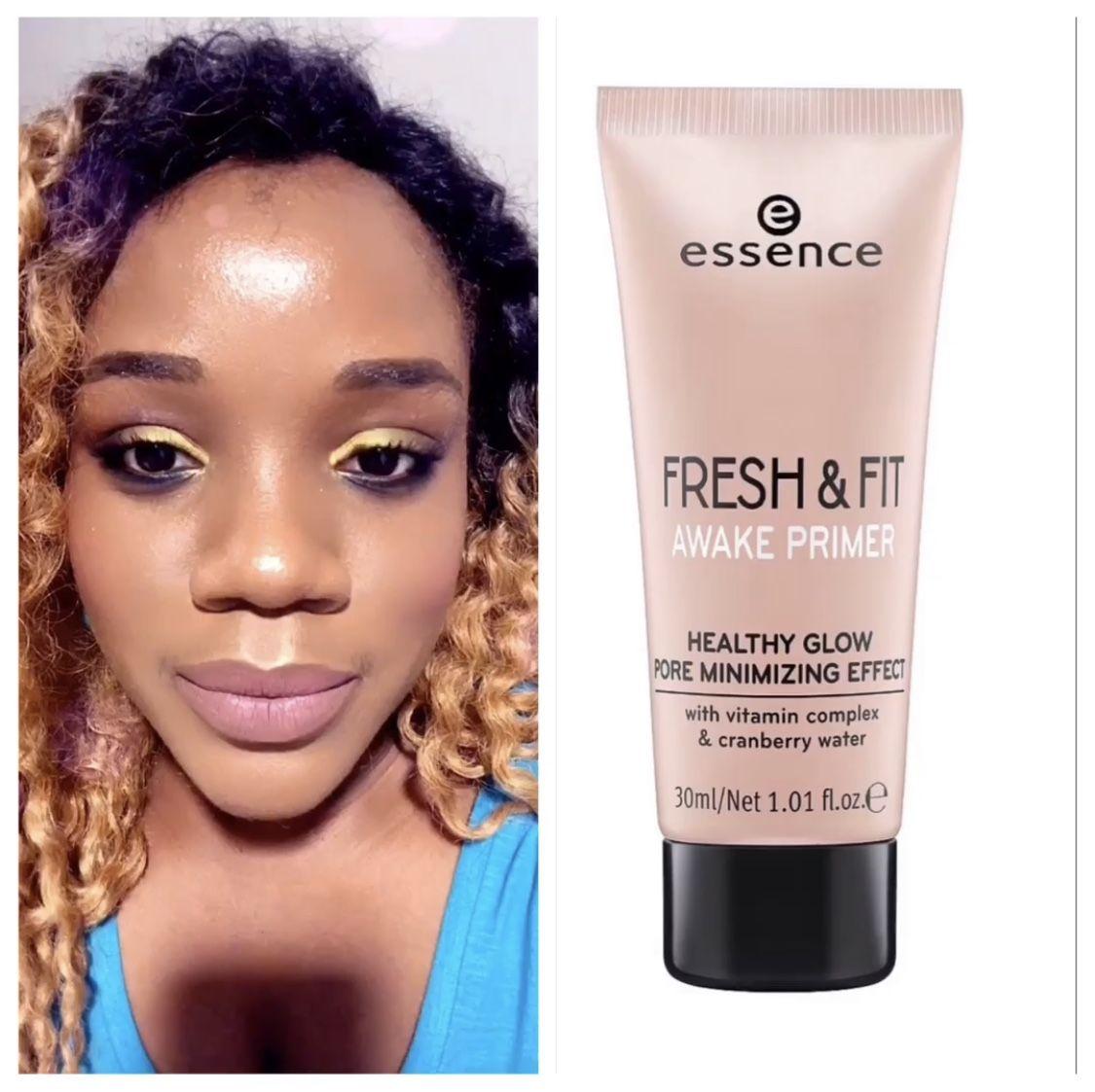 Essence Fresh Fit Awake Primer Healthy Glow Photo Makeup