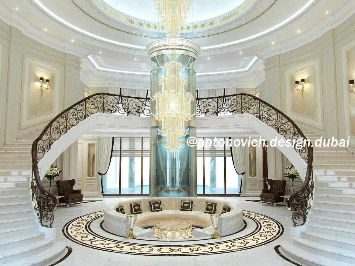 Pin by luxury antonovich design on halls from antonovich for Royal classic house