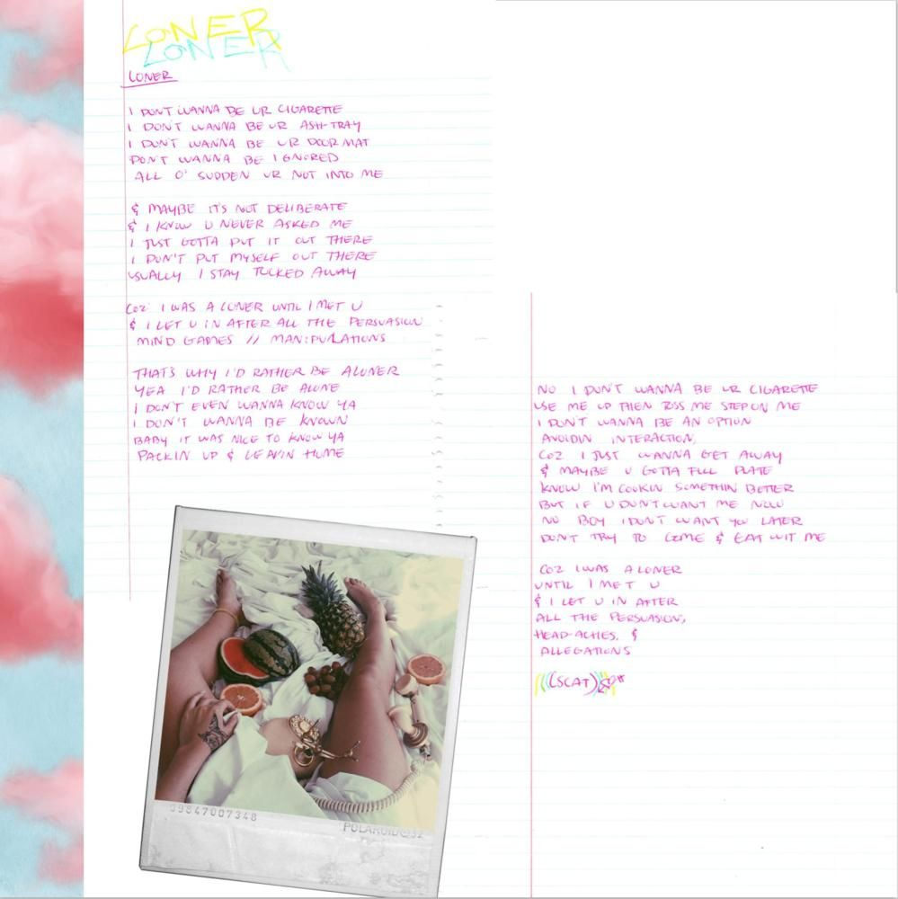 Kali Uchis Loner Lyrics Genius Lyrics Kali Uchis Loner Loner Kali Uchis