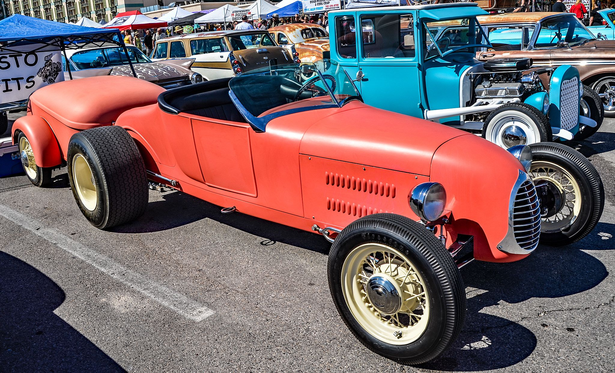 Viva Las Vegas Rockabilly Hot Rodder Car Show Planes And Cars - Viva las vegas car show 2018