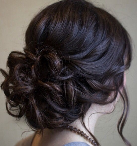 Pin By Hilary Sanchez On Hair Did Pinterest Homecoming Hair