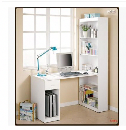 Homeofficecomputerdeskbookshelves Bookshelves Diy Desk Bookshelf Combo Bookshelf Desk