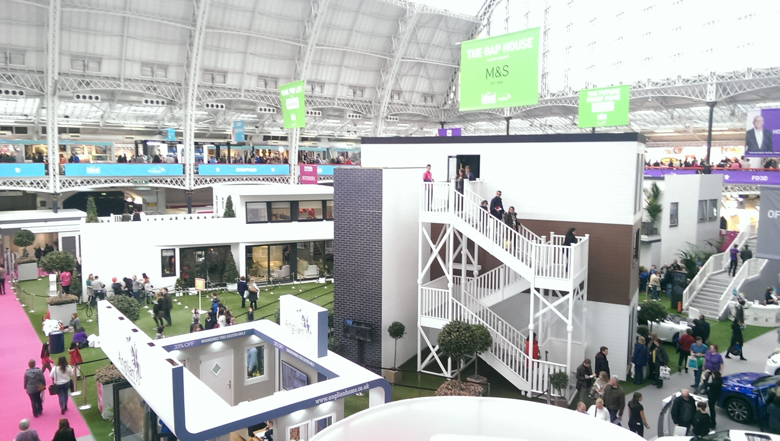 Ideal Home Show - show houses | Ideal Home Show | Pinterest | House