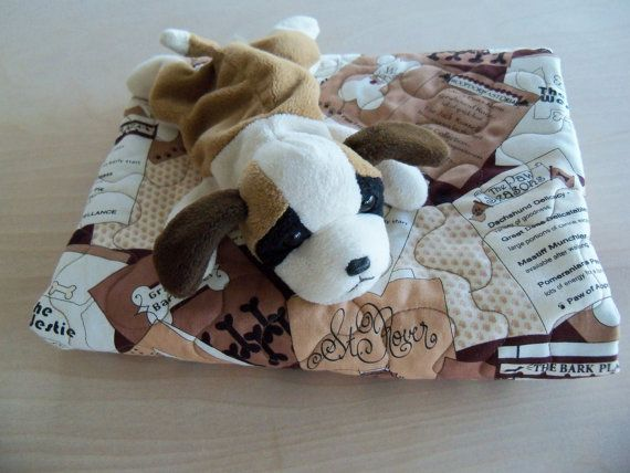 Pet Quilt Small Breed Dog Blanket Handmade by PerfectStitches