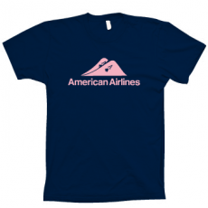 AMERICAN AIRLINES POKER T_SHIRT