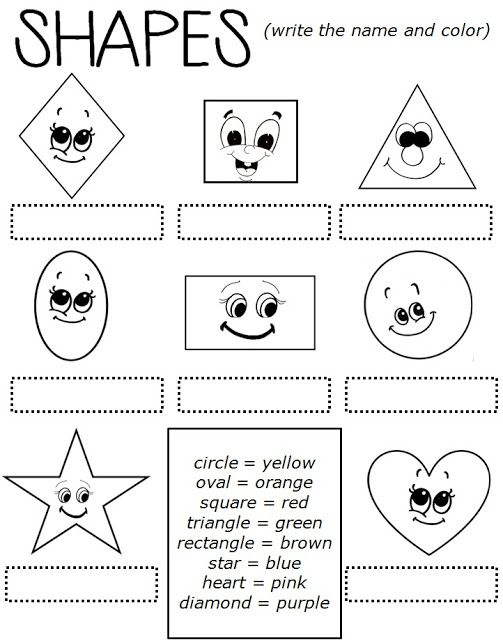 Enjoy Teaching English: SHAPES (worksheet) Shapes Worksheets, English  Worksheets For Kids, Worksheets For Kids