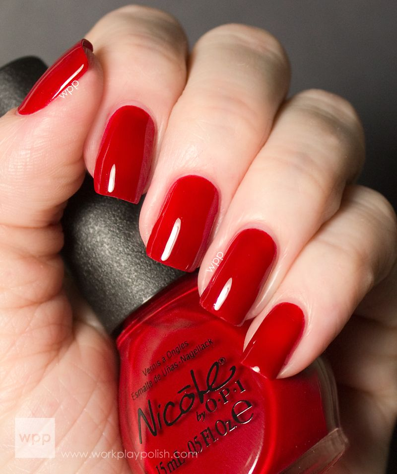 Nicole by OPI - Challenge Red-Y | Collection | Pinterest | OPI, Nail ...