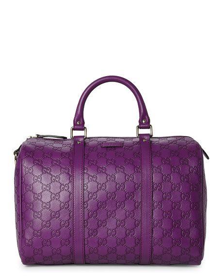 955224a17 GUCCI Purple Guccissima Boston Bag | Bolsas | Gucci handbags, Bags ...