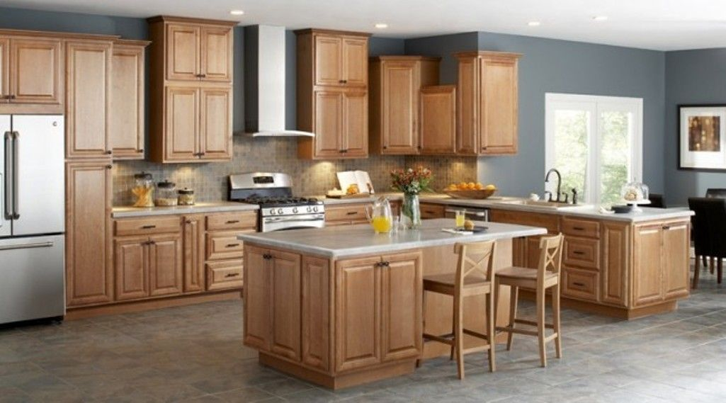 Unfinished Oak Kitchen Cabinets Design of How to Update ...