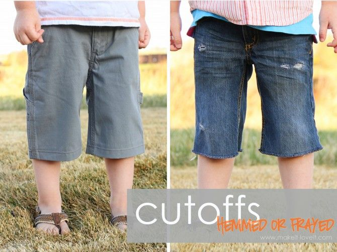 Turning Long Pants Into Shorts And Making It Look Good How To Make Shorts Winter Pants Clothes