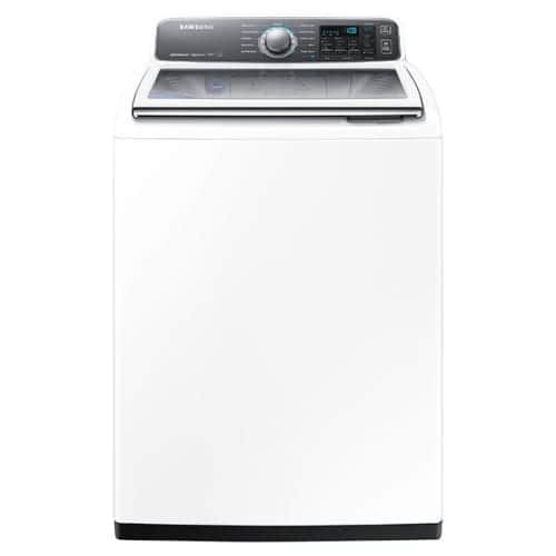 Samsung Wa48j7700a 27 Inch Wide 4 8 Cu Ft Energy Star Rated Top Loading Washer With Activewash Built In Wash Basin Samsung Washer Washer Home Appliances