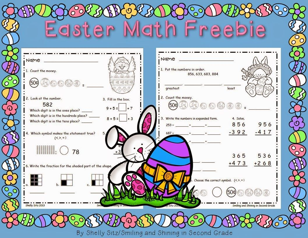 Easter Math Centers And A Freebie