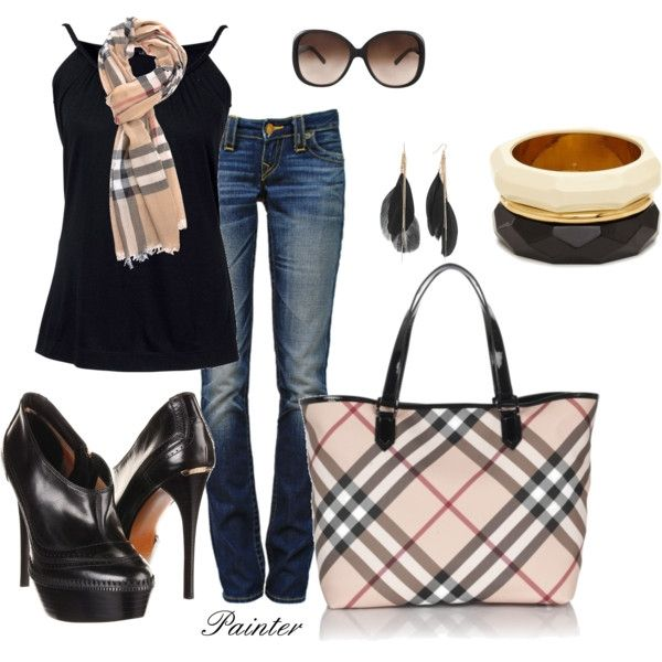 Burberry, created by mels777