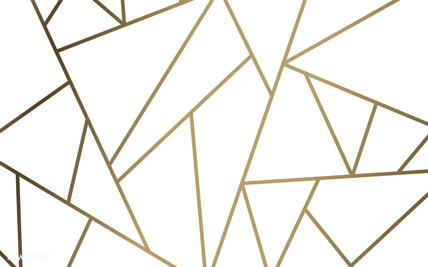 Modern Mosaic Wallpaper In White And Gold Free Image By Rawpixel Com Mosaic Wallpaper Modern Mosaics Mosaic Patterns