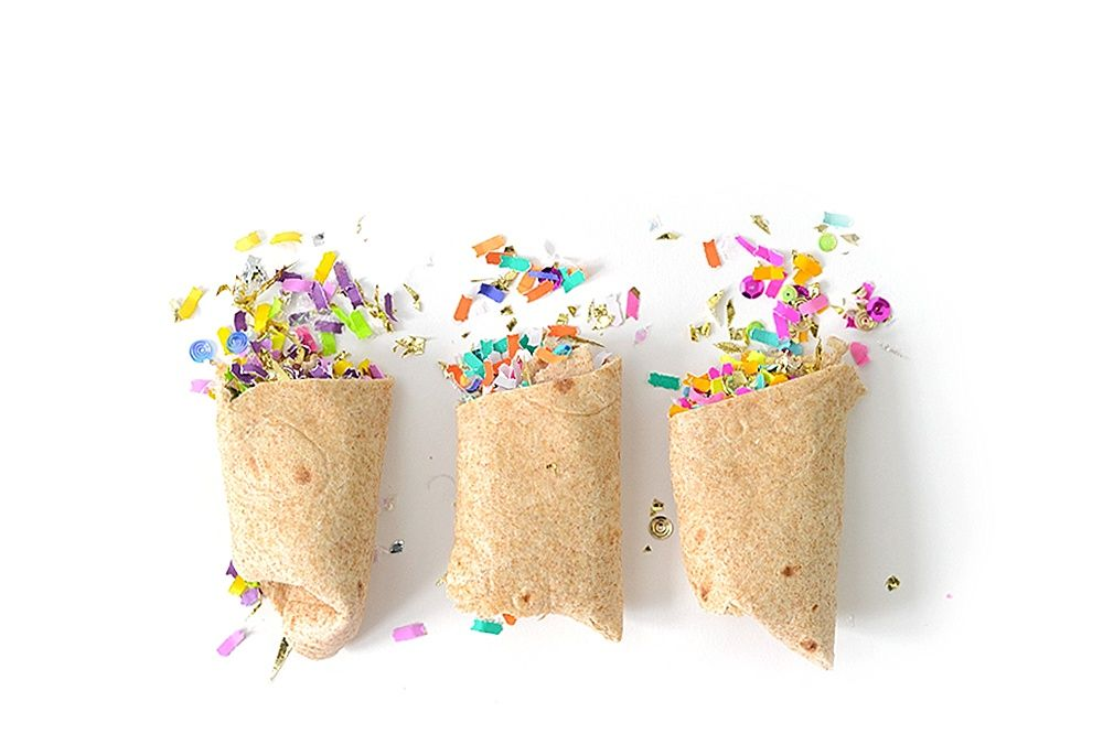 Confetti Burritos by The Confetti Bar