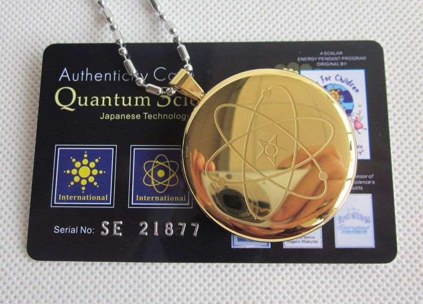Quantum science scalar bio energy chunky gold pendant health quantum science scalar bio energy chunky gold pendant health healing necklace mozeypictures Choice Image