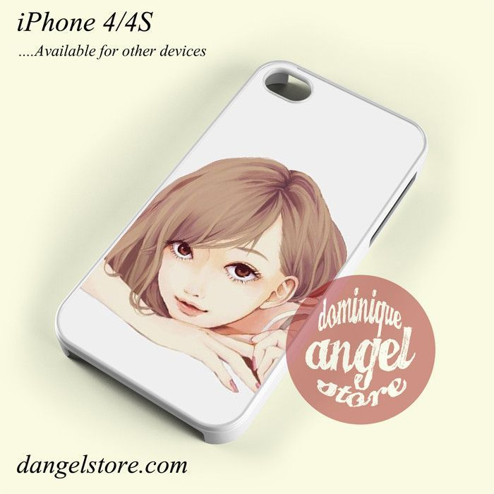 Anime Girl Yp Phone Case for iPhone 4/4s and Another iPhone Devices