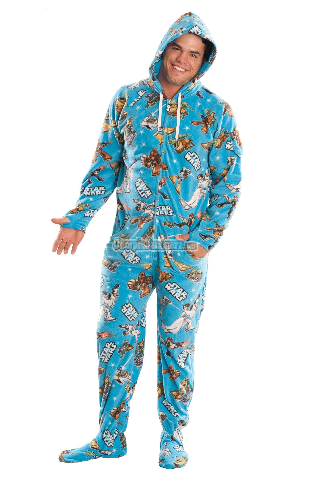 0341969e509f Buy Star Wars Good Guys Onesie Pajamas for Adults Online