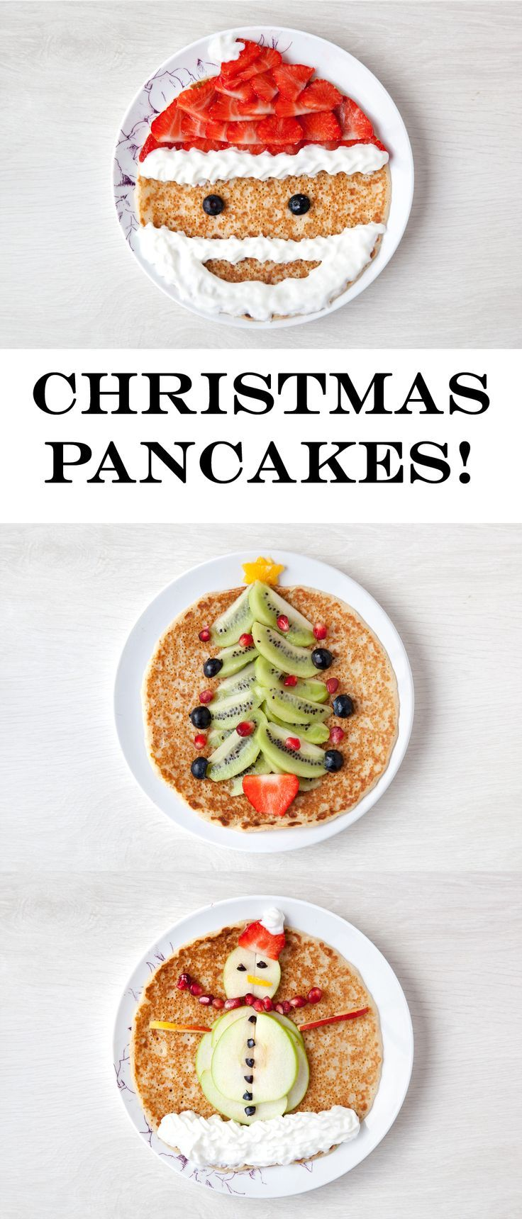 So fun! These festive pancakes are a delicious Christmas treat for ...