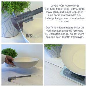 Formgips - Gips för utomhus-   inomhusbruk  2e0e117dac88e