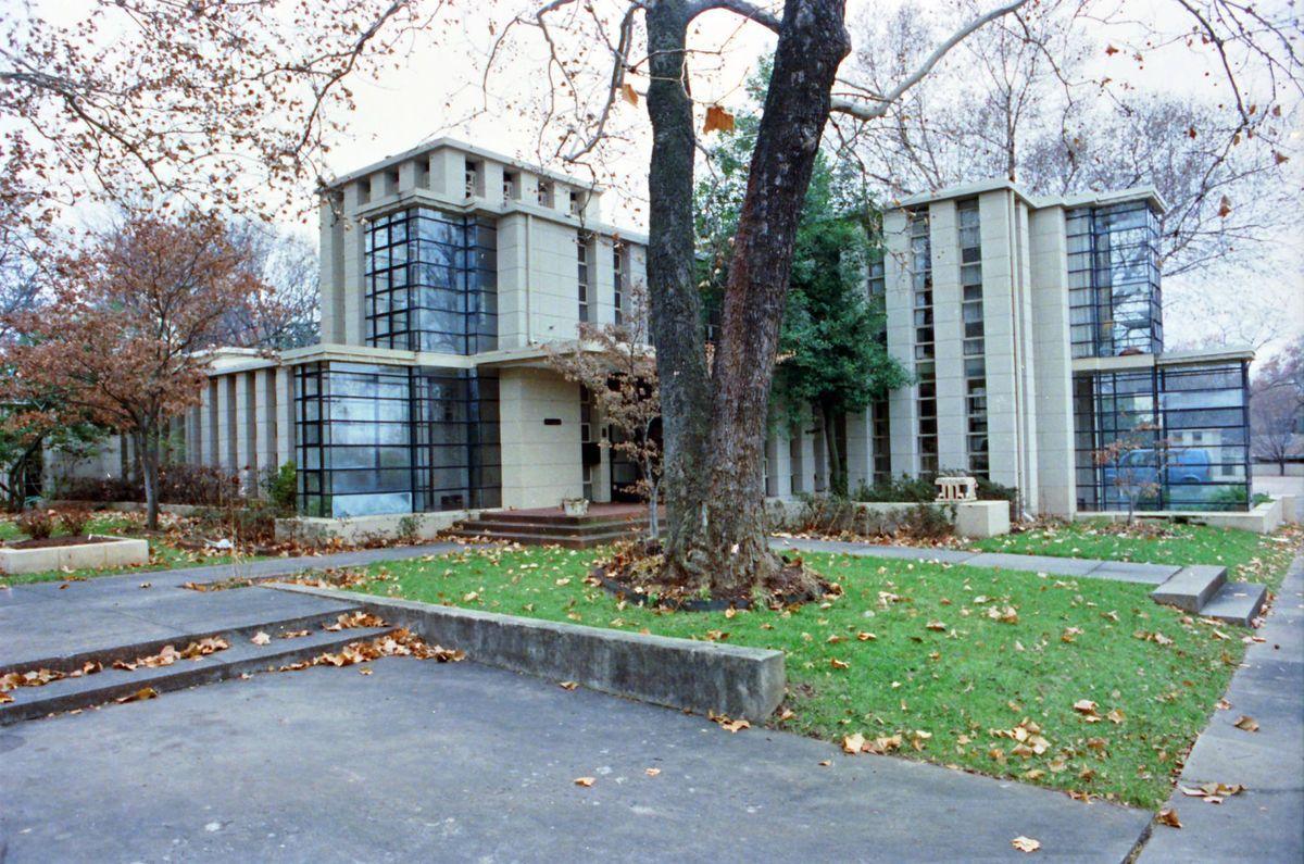 Frank Lloyd Wright Concrete House Tulsa 1929 Frank Lloyd