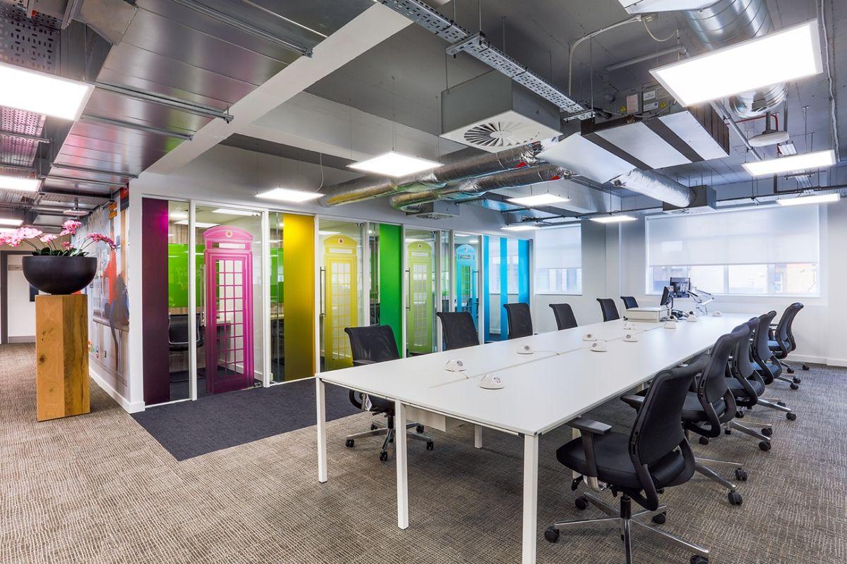 A Look Inside Vodafone's Cool Bracknell Office