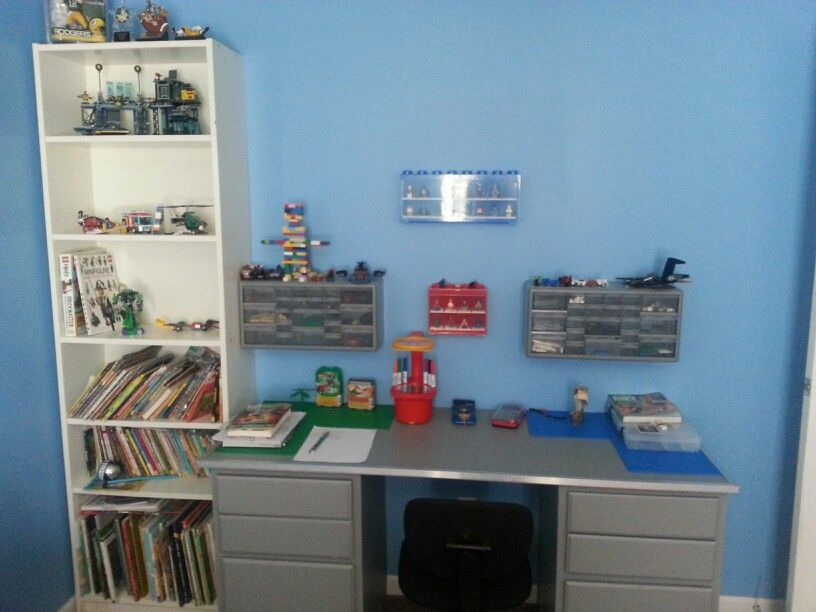 Lego work table/ desk | lego room | Pinterest | Desks and DIY ideas
