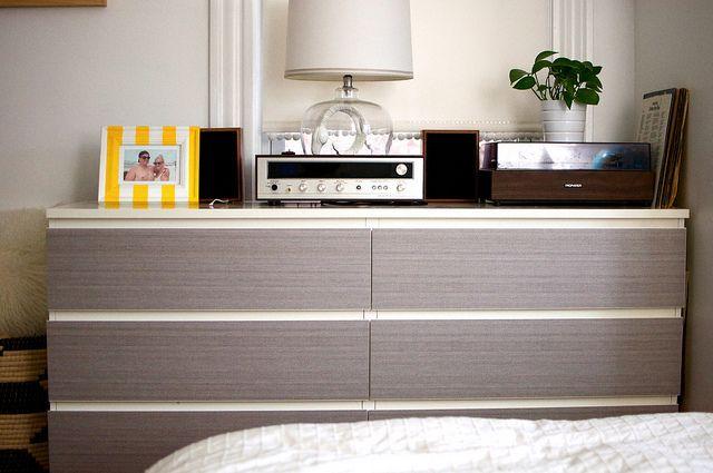 malm 6 drawer dresser bedroom meuble relooking meuble. Black Bedroom Furniture Sets. Home Design Ideas
