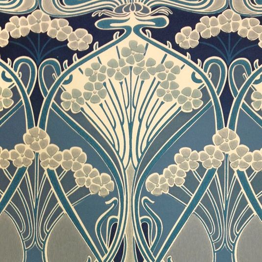 Ianthe Flower Wallpaper A timeless wallpaper design