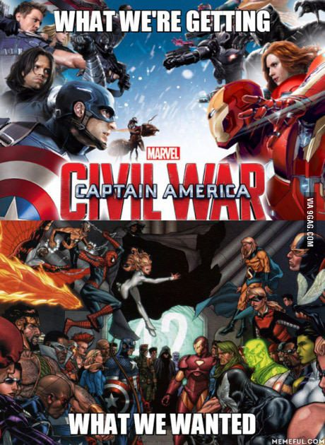Still probably going to be an epic movie, but not Civil War event epic. #epicmovie