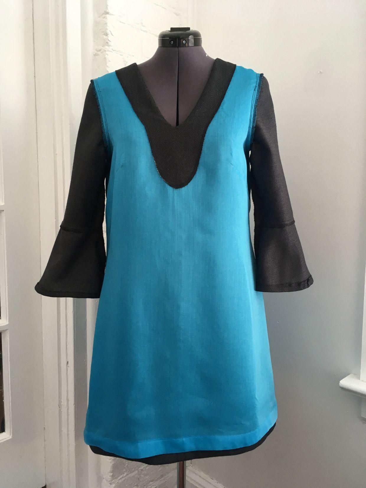 Dress Handmade: Dove dress!