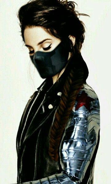 Genderbent Winter Soldier Winter Soldier Cosplay Superhero Cosplay Cosplay Costumes