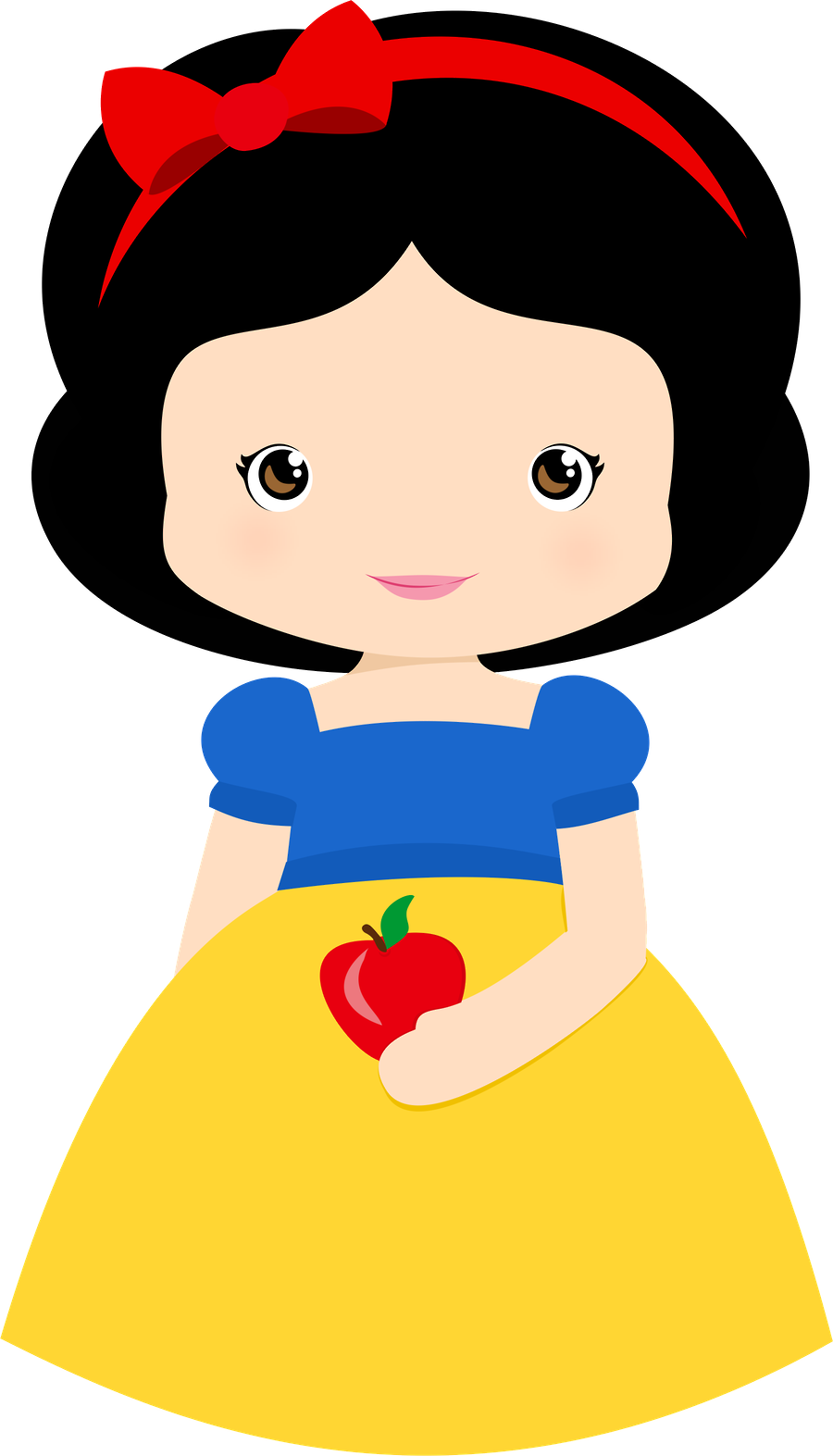 fantoches branca de neve e os 7 an es snow white clip art and snow rh pinterest com snow white clip art free snow white clip art free