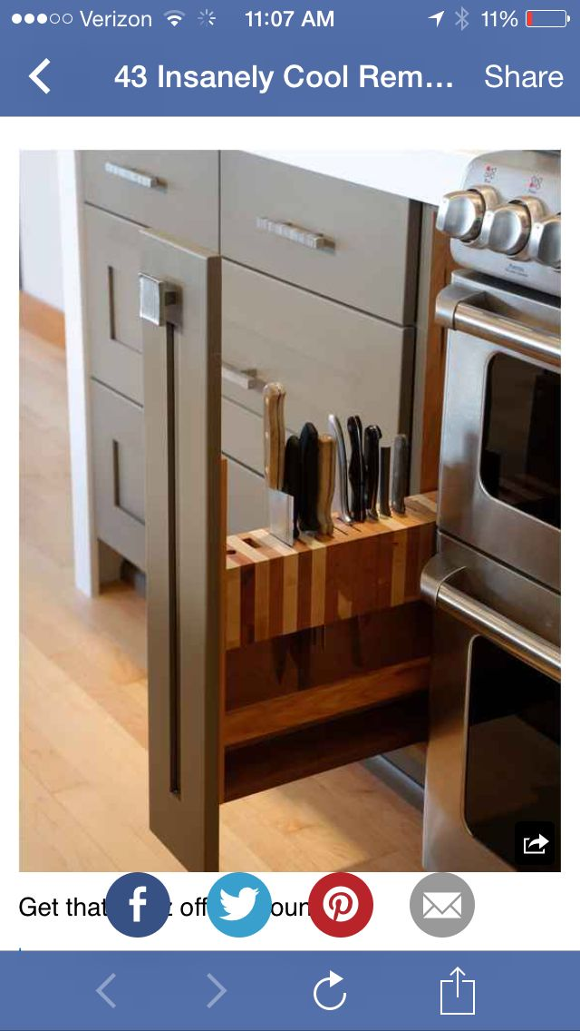 great for a skinny cabinet | Home Improvements | Pinterest | Deco